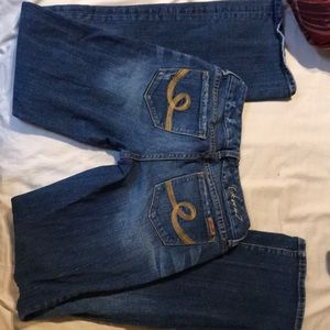 Distressed  seven 7 boot cut size 26